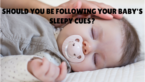 Should you be following your baby's sleepy cues to figure out your baby's sleep schedule?