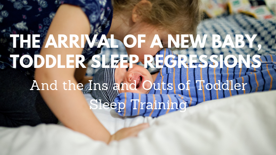 The Arrival of a New Baby, Toddler Sleep Regressions, and the Ins and Outs of Toddler Sleep Training